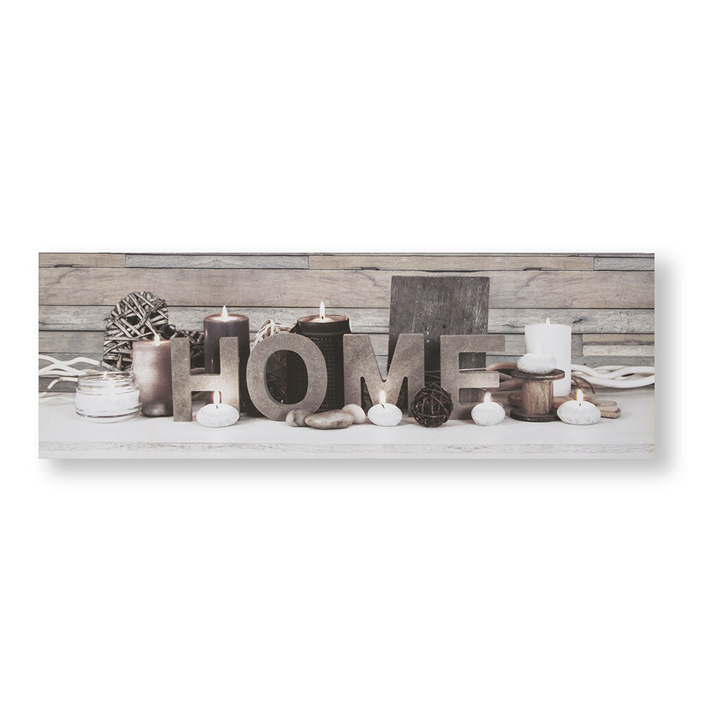 Déco Murale Lumineuse Tranquil Home, , large