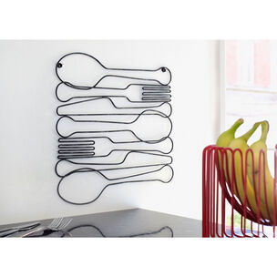 Dinner Time Metal Wall Art, , large