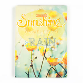 Sunshine After The Rain Printed Canvas Wall Art, , large