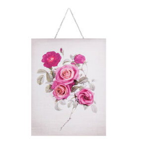 Botanical Bloom Bouquet Printed Canvas, , large