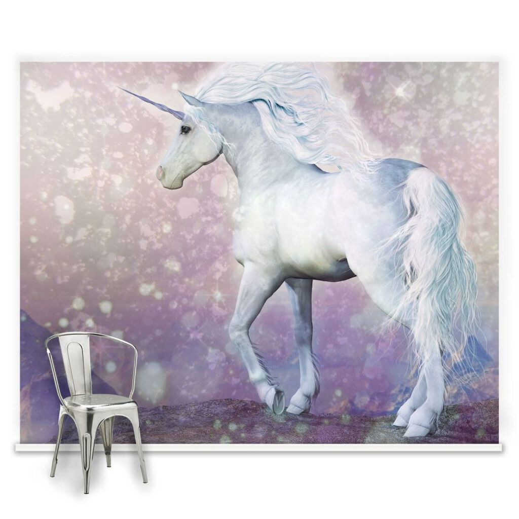 Magical Unicorn Ready Made Mural, , large