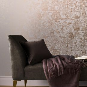 Basuto Pink Wallpaper, , large