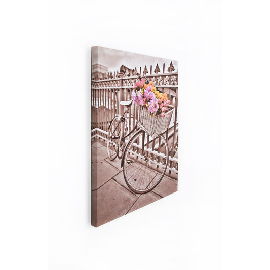 Bicycle Printed Canvas Wall Art, , large