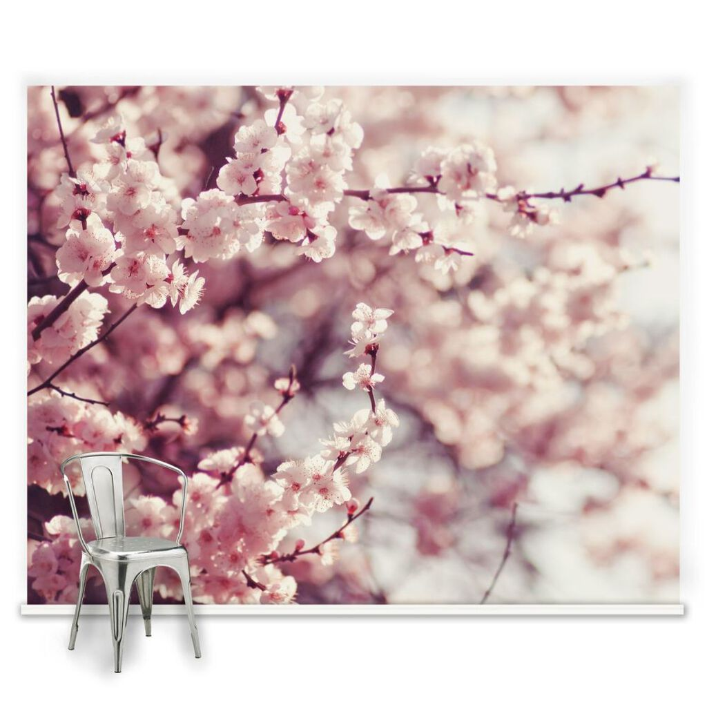 Romantic Blossom Ready Made Mural, , large
