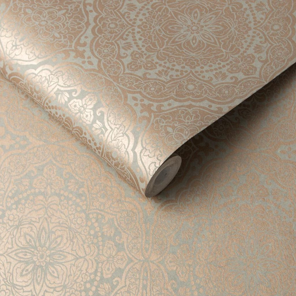 Pleasure Dome Topkapi Opal Wallpaper, , large