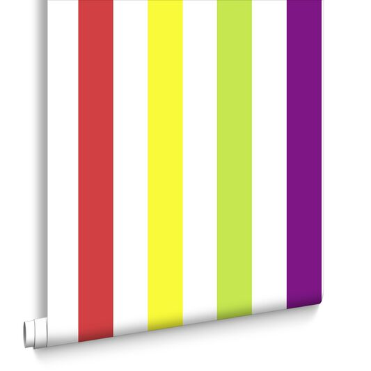 Papier Peint Bright Stripes, , large