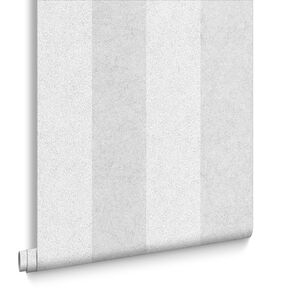 Artisan Stripe Silver Wallpaper, , large