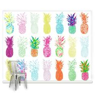 Pineapple Craze Ready Made Mural, , large