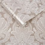 Souk Damask Cardamom Wallpaper