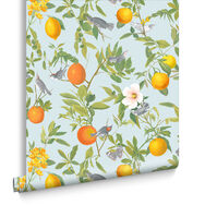 Amalfi Cielo Wallpaper, , large