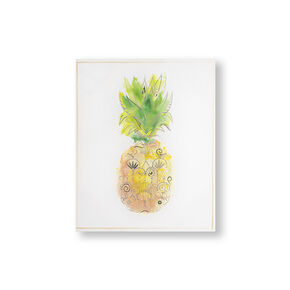 Pineapple Tropics Printed Canvas Wall Art, , large
