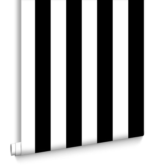 Monochrome Stripe Tapete, , large