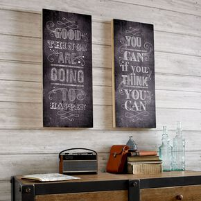 Good Things Print On Wood Wall-art, , large