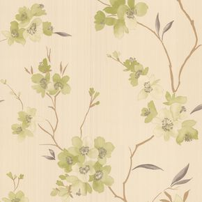 Enthrall Green Wallpaper, , large