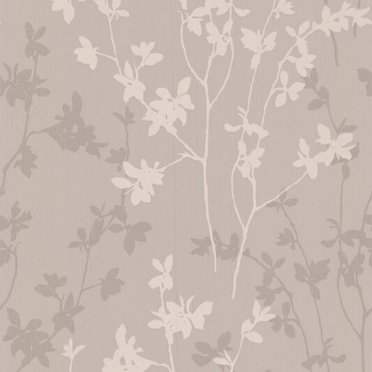 Nature Taupe Wallpaper, , large