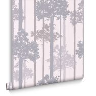 Nottingham White and Grey Wallpaper, , large
