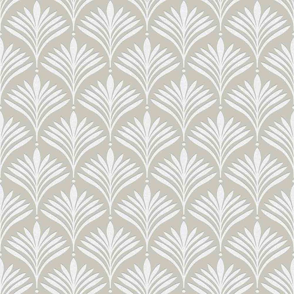 Bonnie Geo Pale Gold Wallpaper, , large