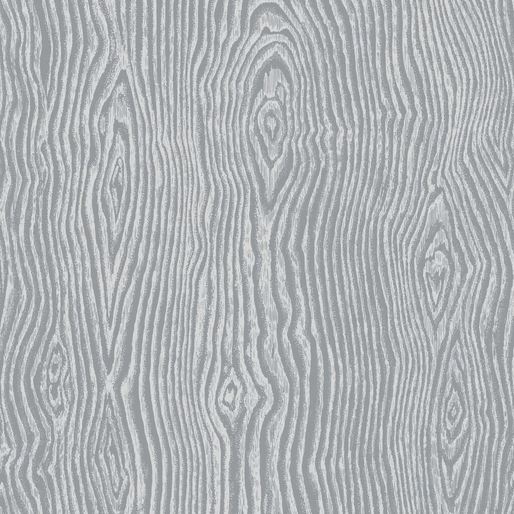 Cypress Grey and Silver Wallpaper, , large