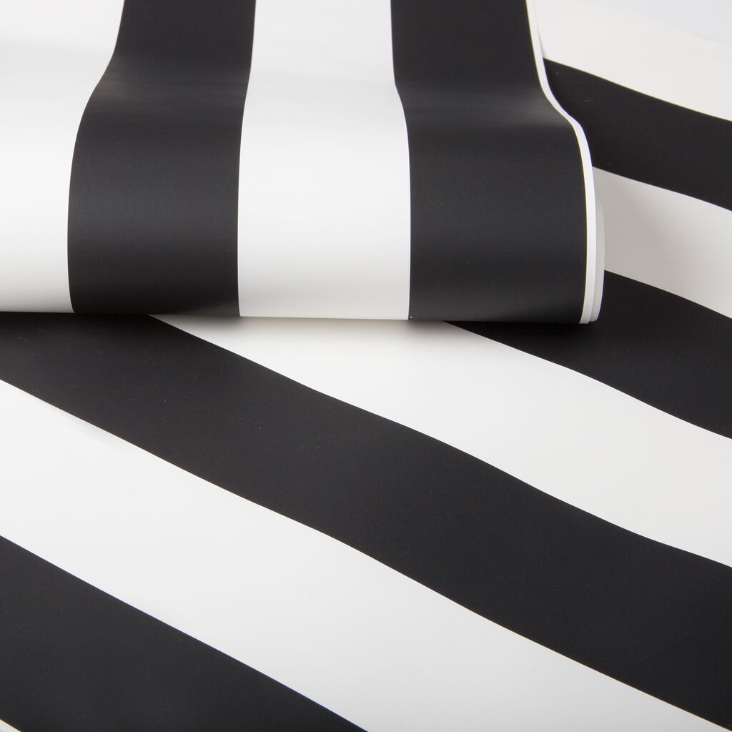 Monochrome Stripe Behang, , large