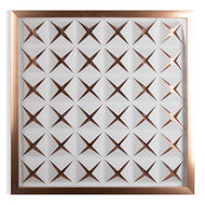 Rose Gold Stroma Framed Wall Art, , large