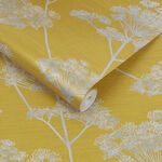 Hortus Mustard Wallpaper