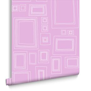 Frames Pink Behang, , large