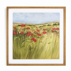 Poppy Meadow Framed Print, , large
