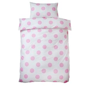 Pink Dotty Bettbezug, , large