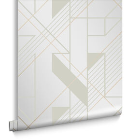 Graphic Parchment Wallpaper, , large