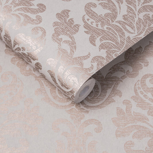 Antique Tapete Taupe, , large