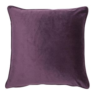 Damson Luxe Cushion, , large