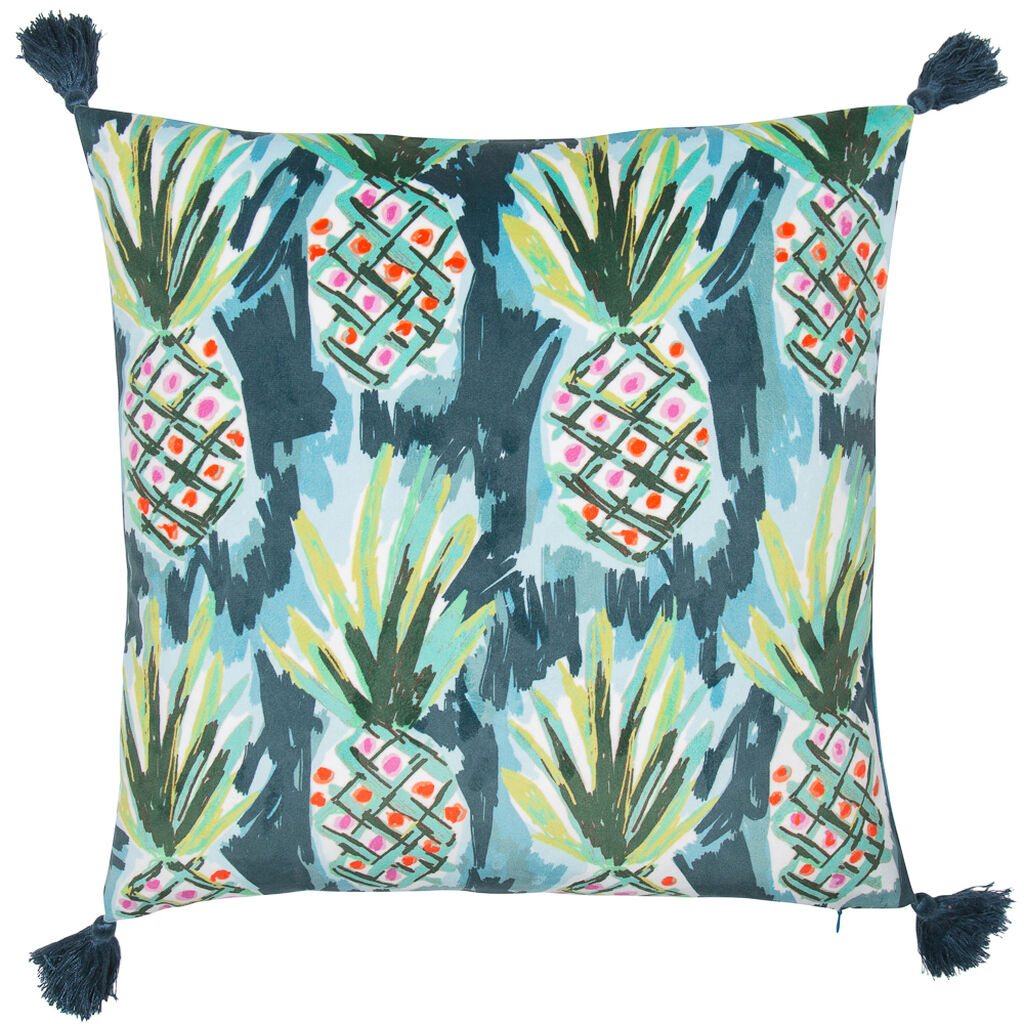 Coussin Ananas Tropicaux, , large