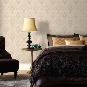 Royale Neutral Wallpaper, , large