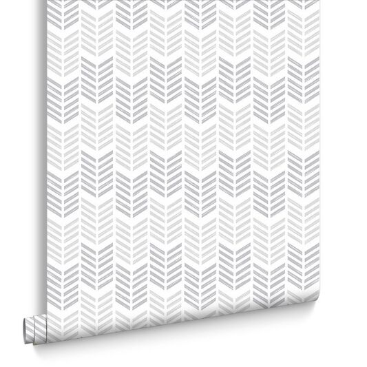Oiti Silver Wallpaper , , large