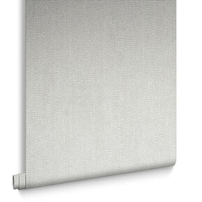 Water Silk Plain Light Silver Wallpaper, , large