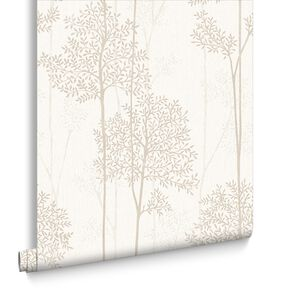 Eternal Cream and Gold Wallpaper, , large