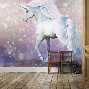 Fotobehang Magical Unicorn, , large