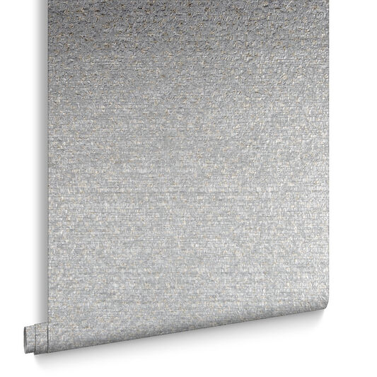 Confetti Silver & Pale Gold Wallpaper, , large