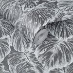 Tropical Pewter Wallpaper