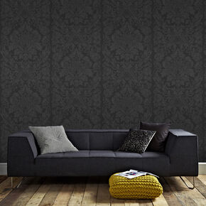 Gloriana Black Behang, , large