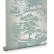 Meadow Dusk Wallpaper, , large