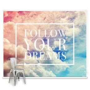 Follow Your Dreams Ready Made Mural, , large