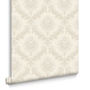 Jacquard Pearl Wallpaper, , large
