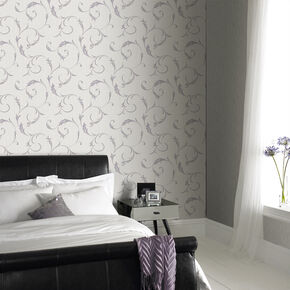 Athena Heather Wallpaper, , large