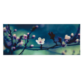 Petite Petals Printed Canvas Wall Art, , large