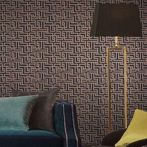 Zen Charcoal Wallpaper, , large