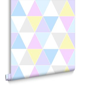 Harlequin Pastels Behang, , large