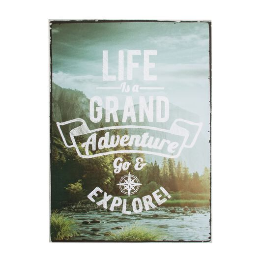 Life's An Adventure  Printed Canvas, , large