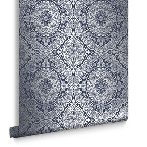 Pleasure Dome Adriatic Blue Wallpaper, , large
