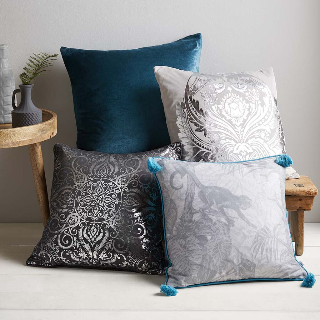 Ubud Grey Cushion, , large